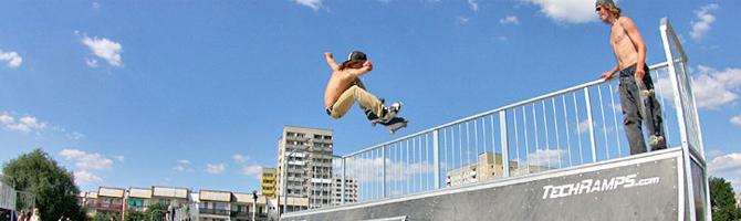 Skate Park Techramps